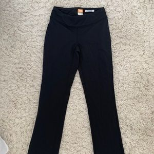 Black Lucy yoga pants (flared)
